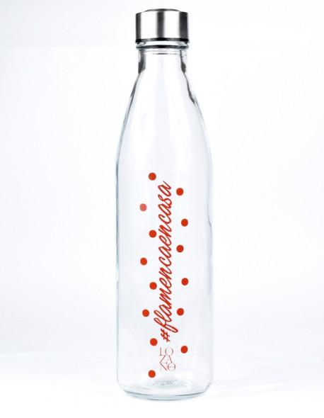 Botella de cristal 1 litro